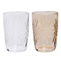 Ljuslykta Glas 6,5x9,5 cm