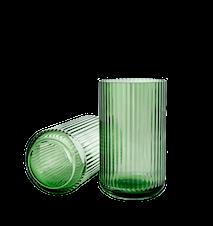 Maljakko Suupuhallettu Lasi Copenhagen Green  25cm