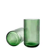 Vase Pustet Glas Copenhagen Green 25cm