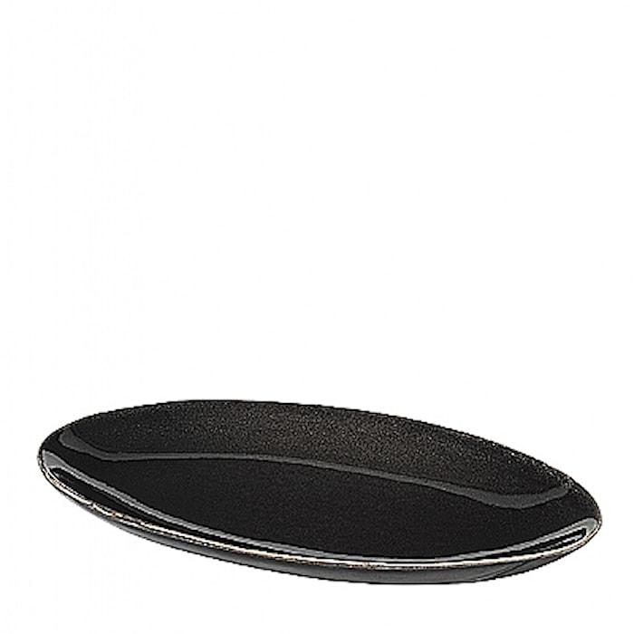 Fat Oval S Nordic Coal Steingods, W13,6XL22 CM
