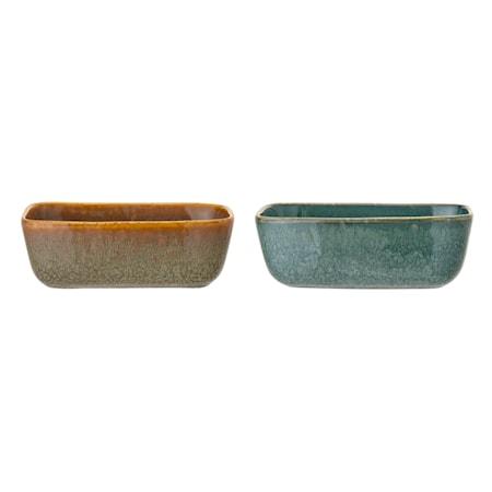 Aime Serving Bowl, Multi-color, Stoneware