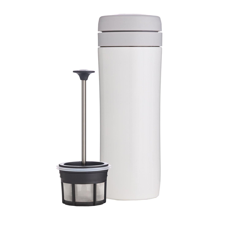 Espro travel Pressmugg Vit termo kaffe