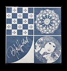 Paper Napkin Blue 40 x 40 cm
