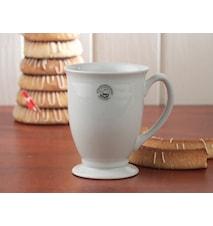Kaffeetasse mit Fuß 330 ml Weiß