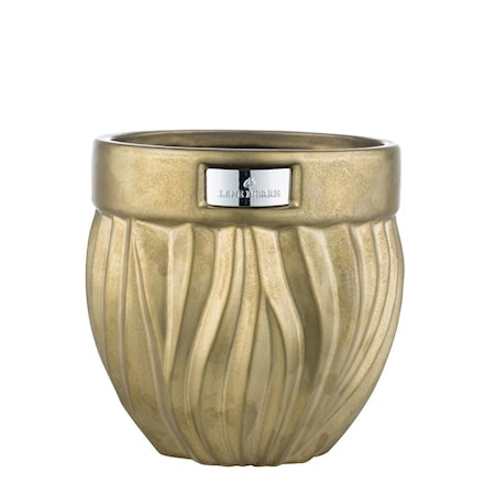 Blomkruka Flamia 16cm Guld
