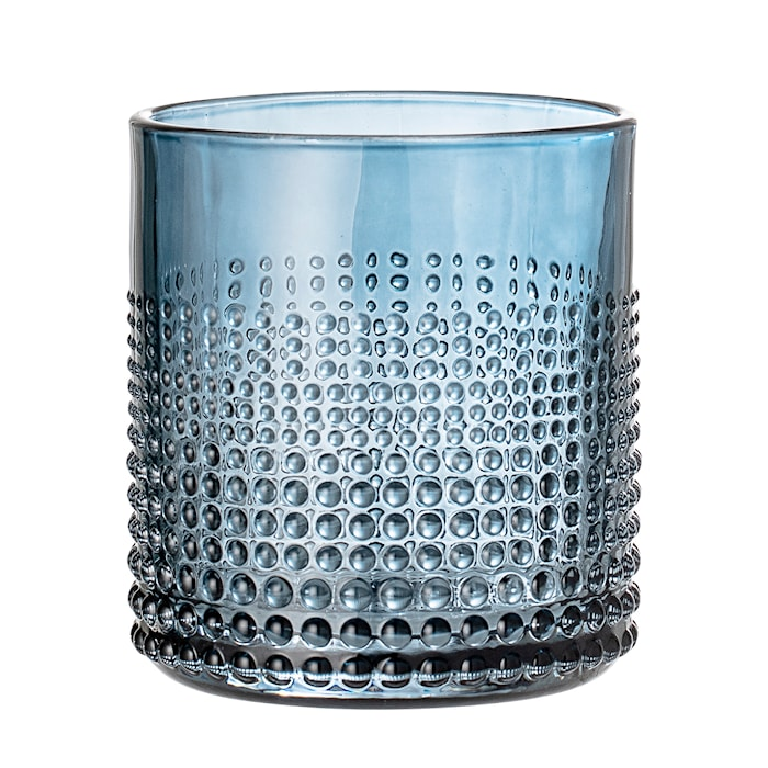 Drikkeglas, Blue, Glas
