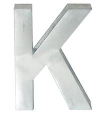 Metallvetica bokstav - K