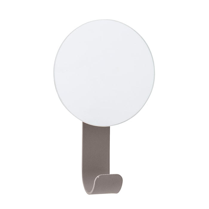 Spegel med Krok Metall Grå