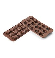 Easy Choco SCG24 Choco Springlife Silikonform 3,6 x 2,6 x 1,5 cm