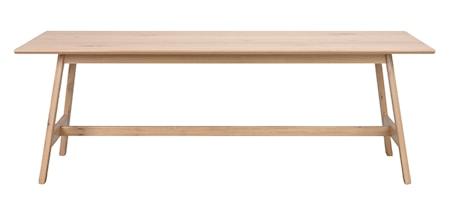 Islay Matbord Vitpigmenterad ek 220 cm