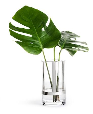 Hold Kerzenhalter und Vase Medium Silber