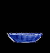 Oyster Skål Blå 23x18cm