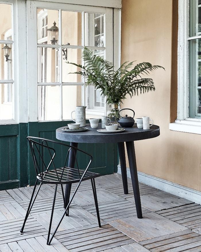 Classic stol med sædehynde