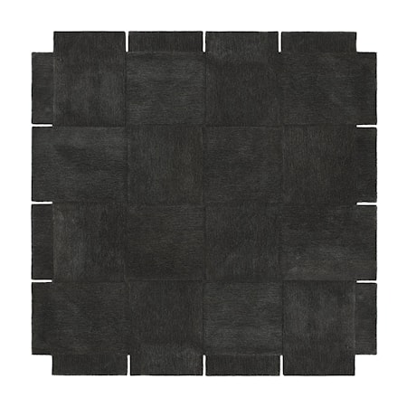 Basket Matta Mörkgrå 245x245 cm