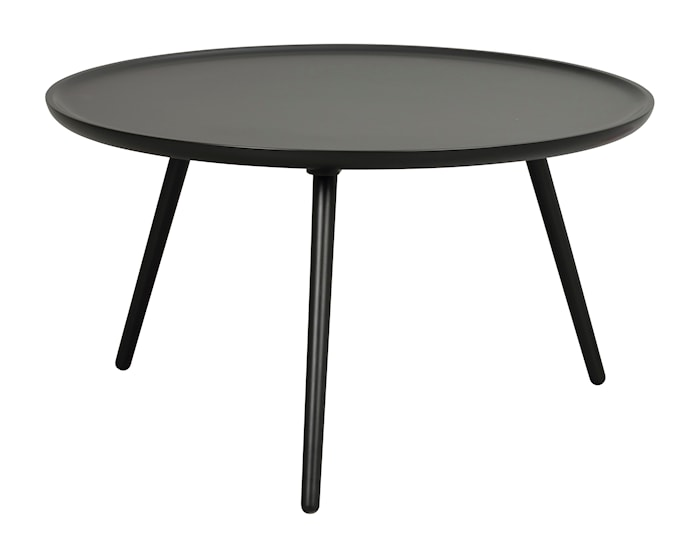 Daisy Sofabord rundt svart 80 cm