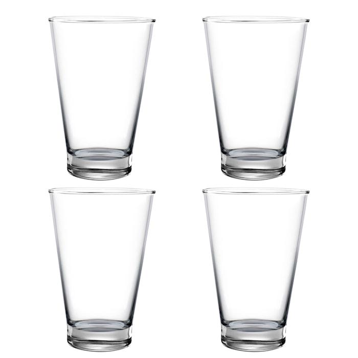 Pure & Simple Vattenglas 4-pack Klar