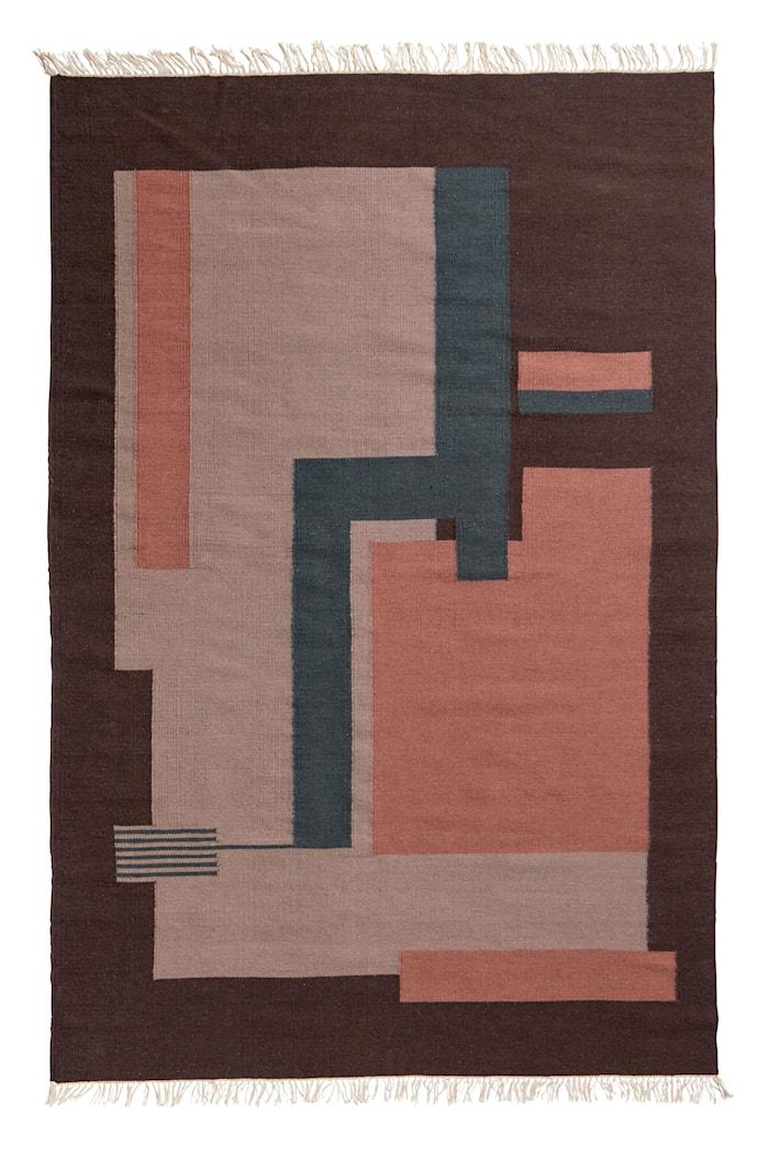 Blush Ullmatta Plum 160x240 cm
