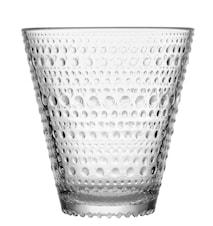 Kastehelmi drikkeglass 30 cl klar 2-pakk