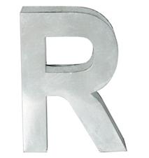 Metallvetica bokstav - R