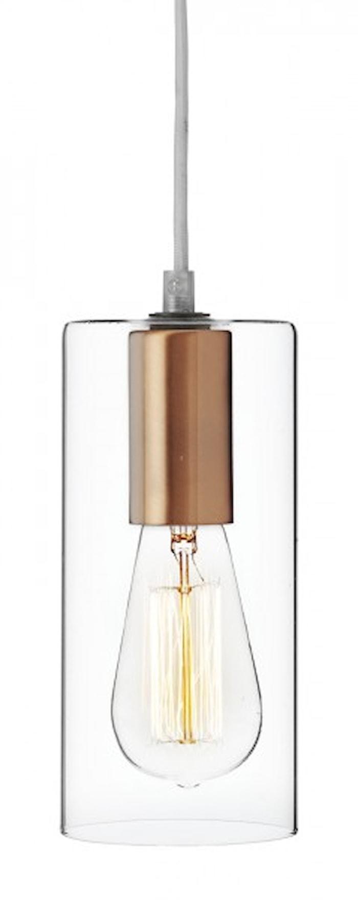 Spartan Glas Pendant Copper