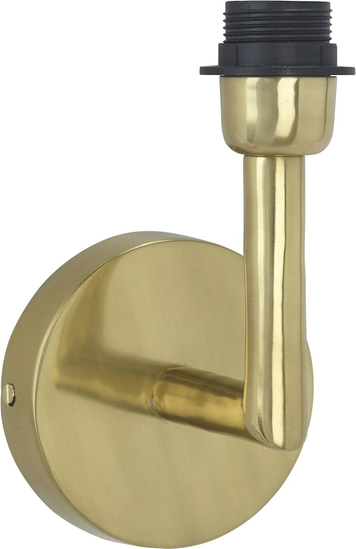 Columbus Vegglampe Gull 22 cm