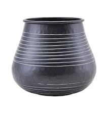 Vas Stribe Aluminium Svart 19,5cm