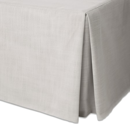 Venezia sängkappa linne - Ivory, 210x220x54