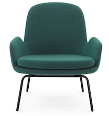 Era Lounge Chair Low Steel - Fame