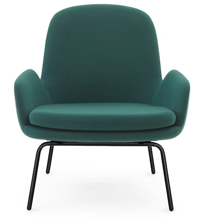 Era Lounge Chair Low Steel
