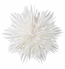 Eldig Pappersstjärna Vit 70 cm