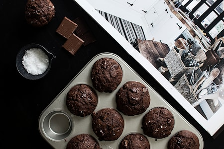 Silvertop Muffinsform Mini 25cm Stål