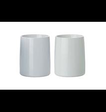 Emma Thermos Mugs, 2 pieces Grey