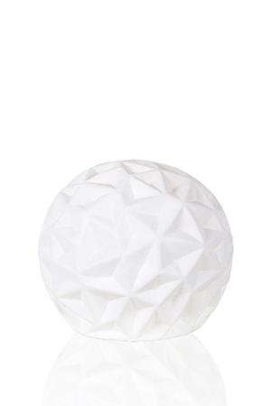 Bordslampa Fasette Vit