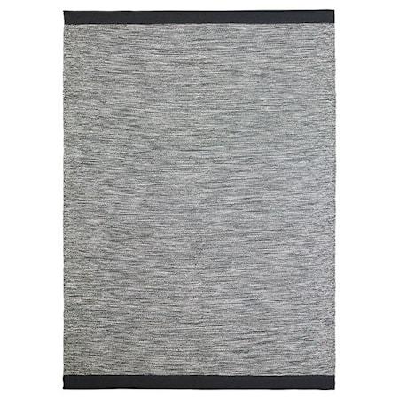 Loom Teppe i bomull Granite Grey 200x300 cm