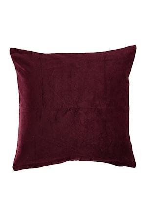 Bild på Kuddfodral Ava 50x50 cm - Vinröd