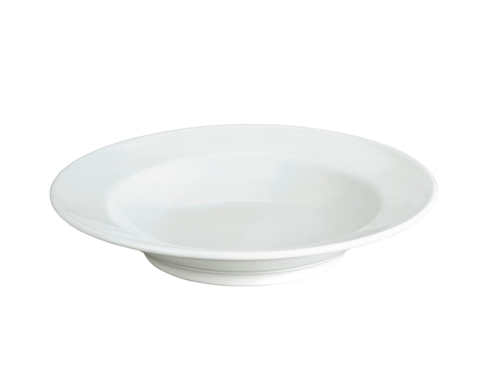 Sancerre pastatallerken dyp hvit 28 cm