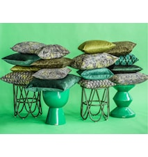 Portofino Kuddfodral 45x45 - Grön mönster