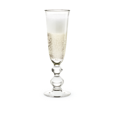 Holmegaard Charlotte Amalie Champagneglass, 27 cl