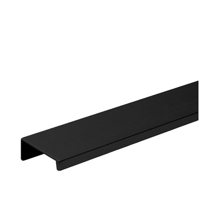 Handtag Slim 4025 Svart - 4 cm