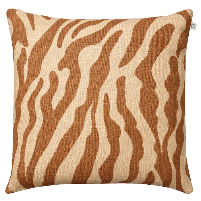 Zebra Kuddfodral Linne Mullvad 50x50 cm
