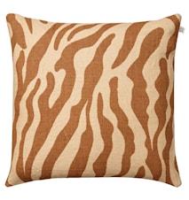 Zebra Kudde Linne Mullvad 50x50 cm