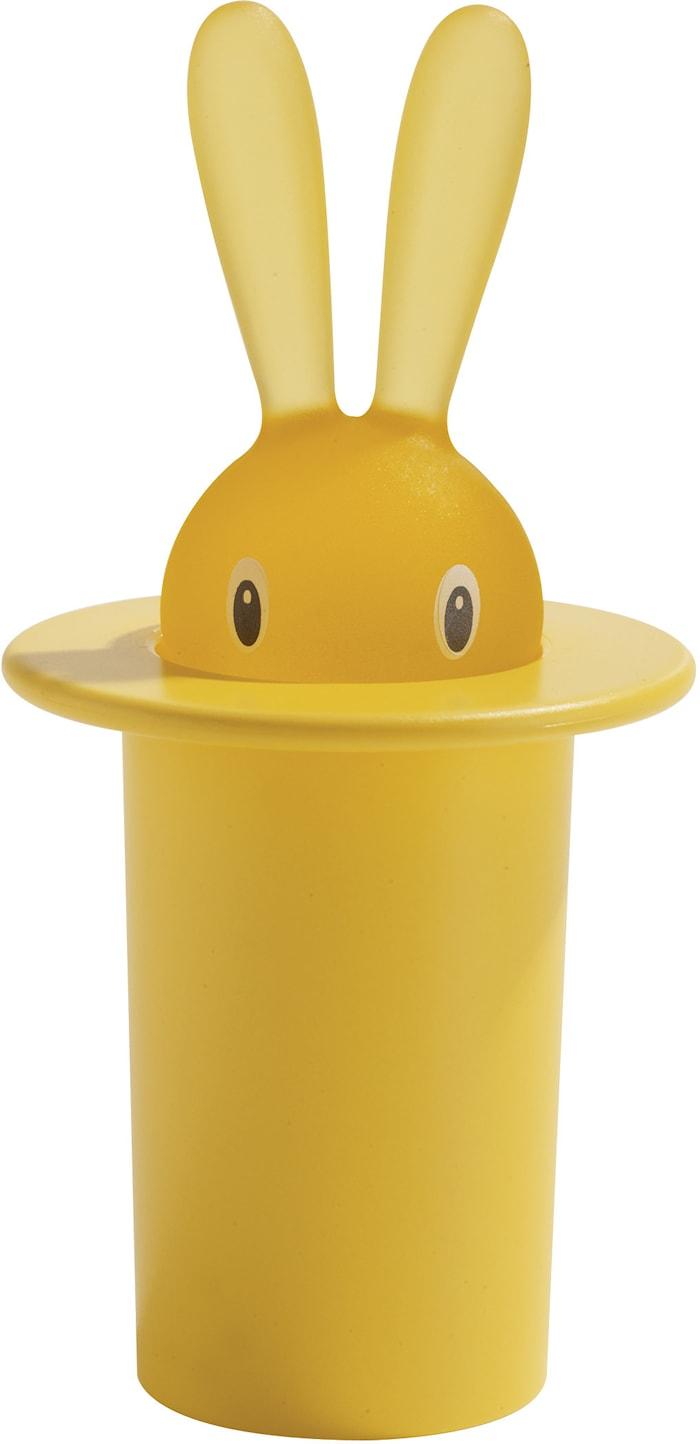 Magic Bunny Hållare för tandpetare Gul