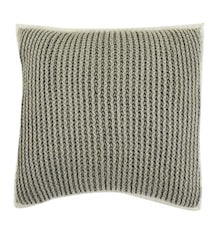 Pure knitted Pudebetræk 45x45 - Grå