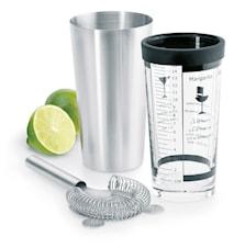 Pure Taste Shaker set 0,5l Rostfritt stål