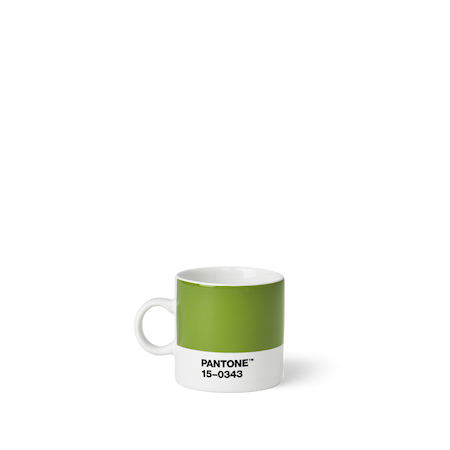 Living Espressokopp 12 cl Grön