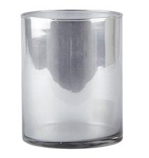 Vase Grå/Metallic 15 cm
