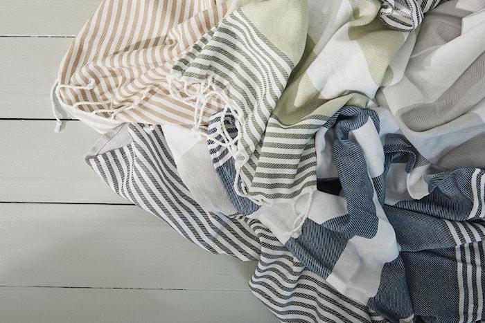 Hamam Handduk ECO Blå 50x70 cm