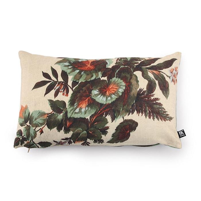 Kudde med mönster 35x60 cm