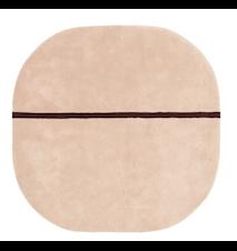 Oona Teppe Rosa 140x140 cm