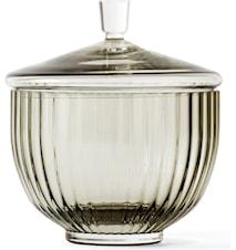 Bonbonjär Munnblåst Glass Smoke Ø10 cm